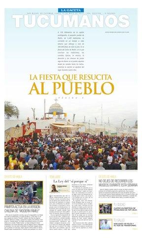 9aedeca746 13-05-2013 Tucumanos LA GACETA by La Gaceta - issuu