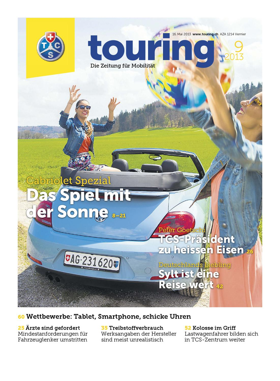 Touring 09 / 2013 Deutsch By Touring Club Schweiz Suisse Svizzera  Switzerland   Issuu