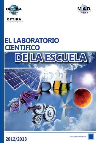 Catálogo el Laboratorio Científico de la Escuela 2011/2012 by ...