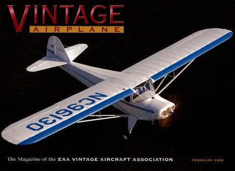 VA Vol 36 No 2 Feb 2008 By EAA Vintage Aircraft Association