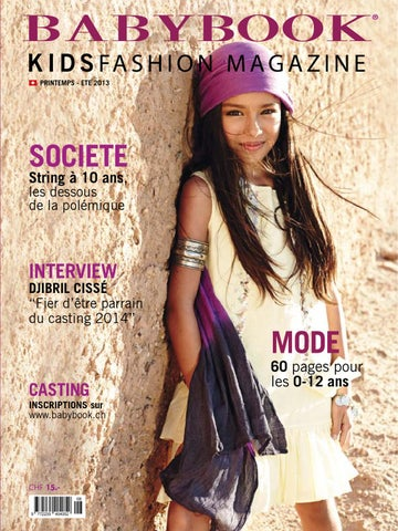Babybook KidsFashion Magazine Printemps   Eté 2013 by BABYBOOK ... f7df3945650e