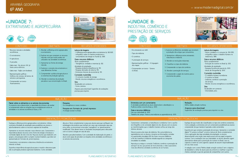 Planejamento Interativo - Geografia by Editora Moderna - issuu