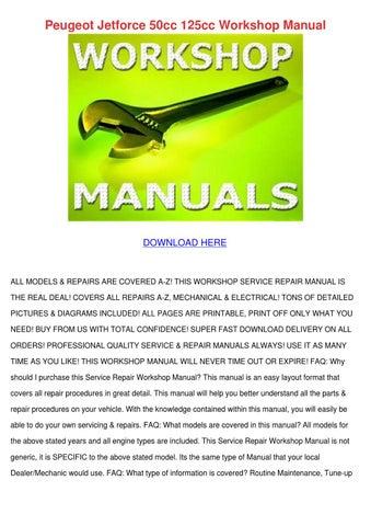 jetforce service manual