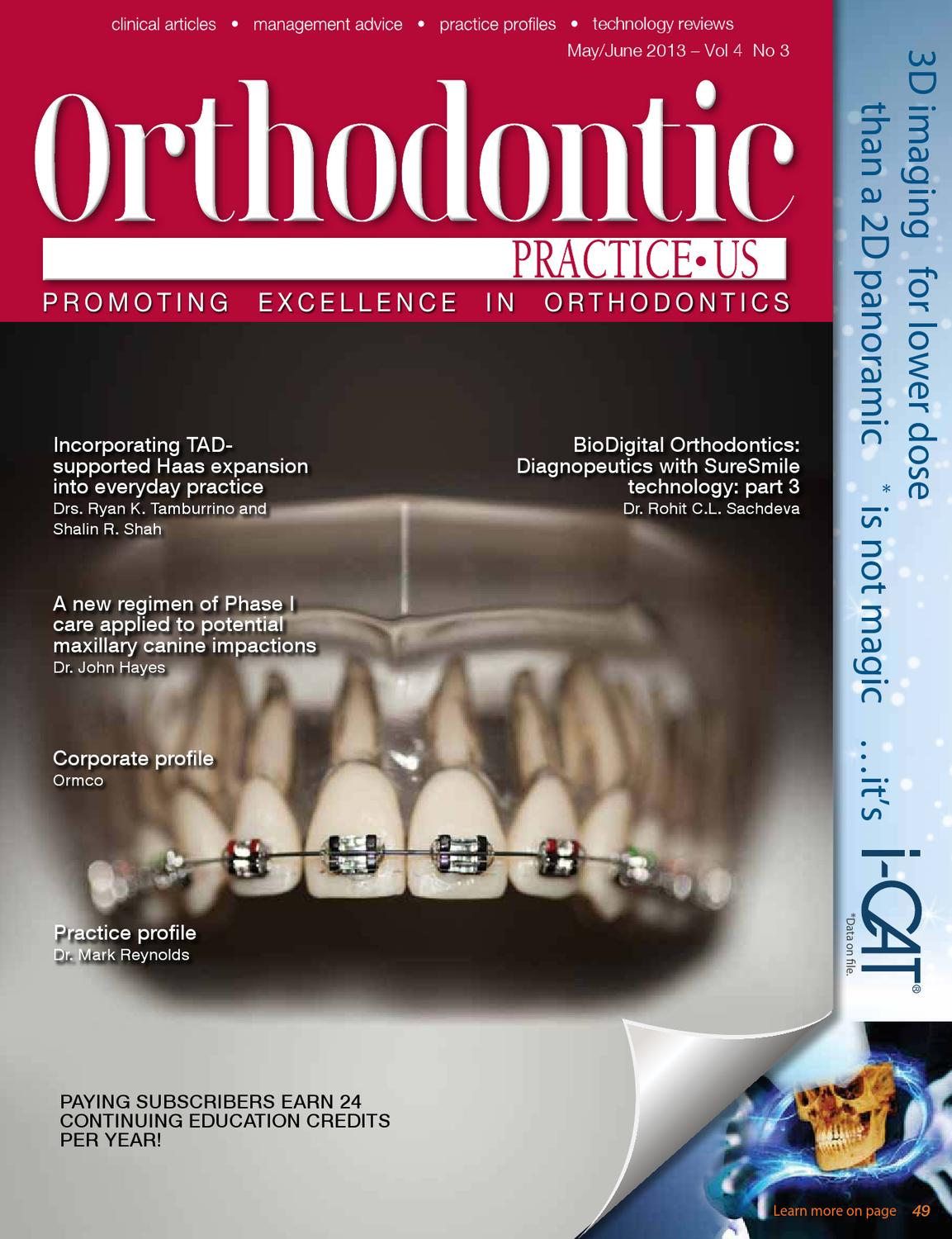 orthodontic master thesis An original master's thesis project is required and is designed to obtain results suitable for publication in a reputable dental journal the curriculum focuses on.