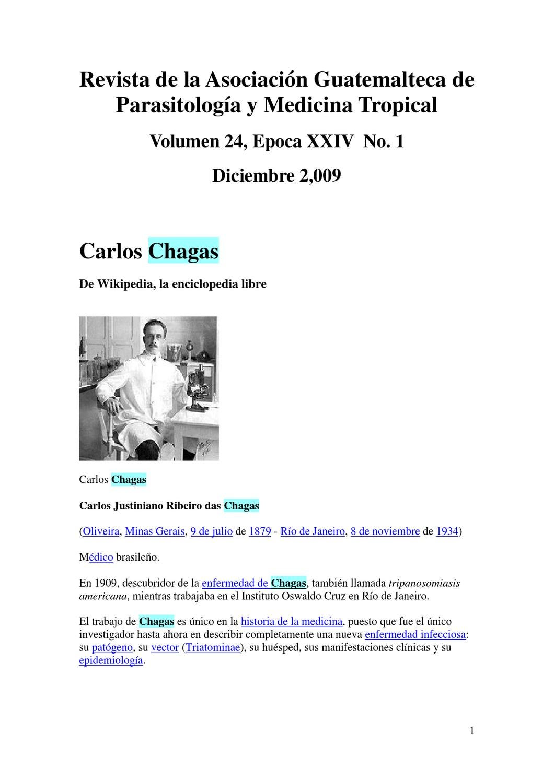 enfermedad mal de chagas wikipedia