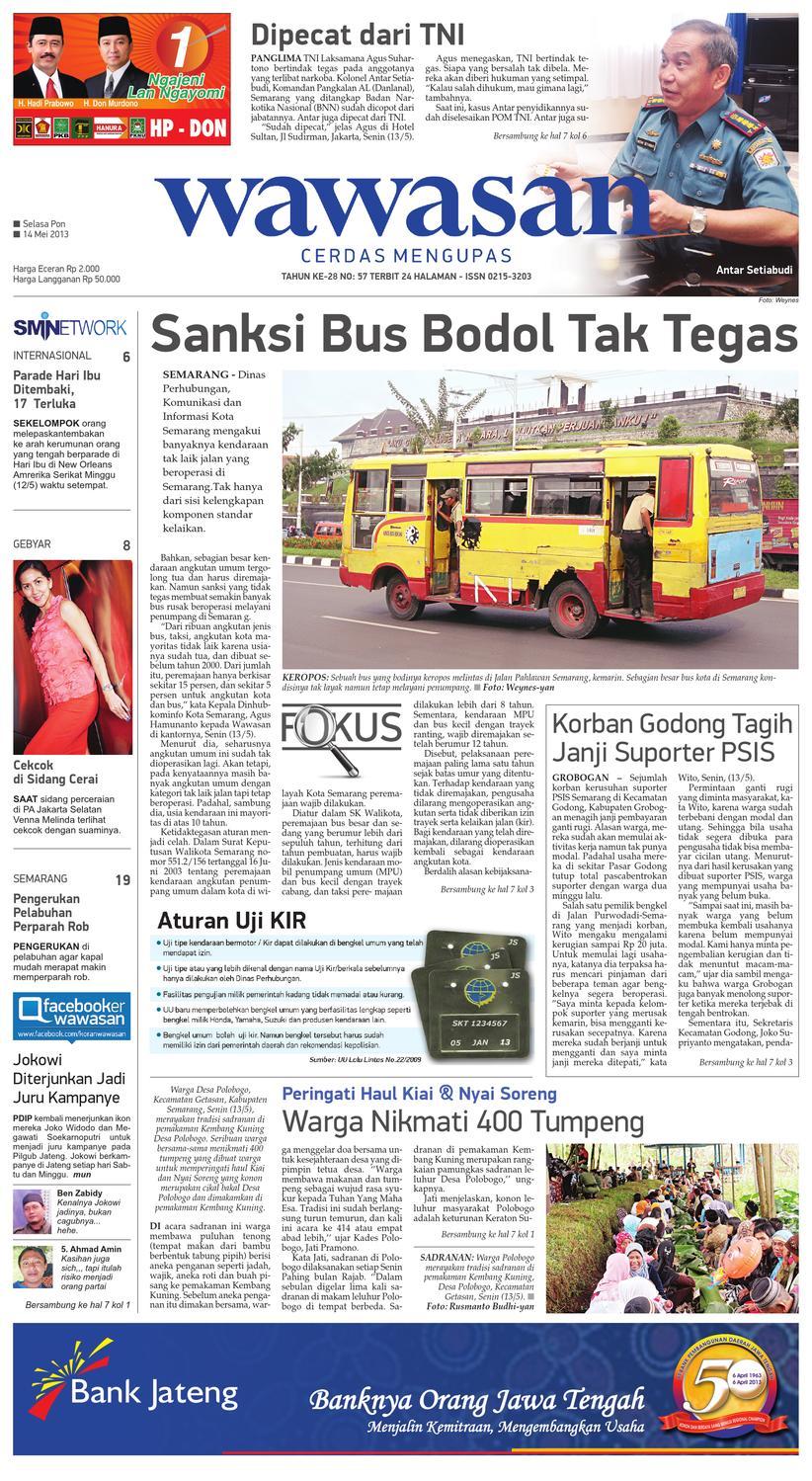 Wawasan 14 Mei 2013 By Koran Pagi Issuu Produk Ukm Bumn Box Hantaran Pengantin Bio Art