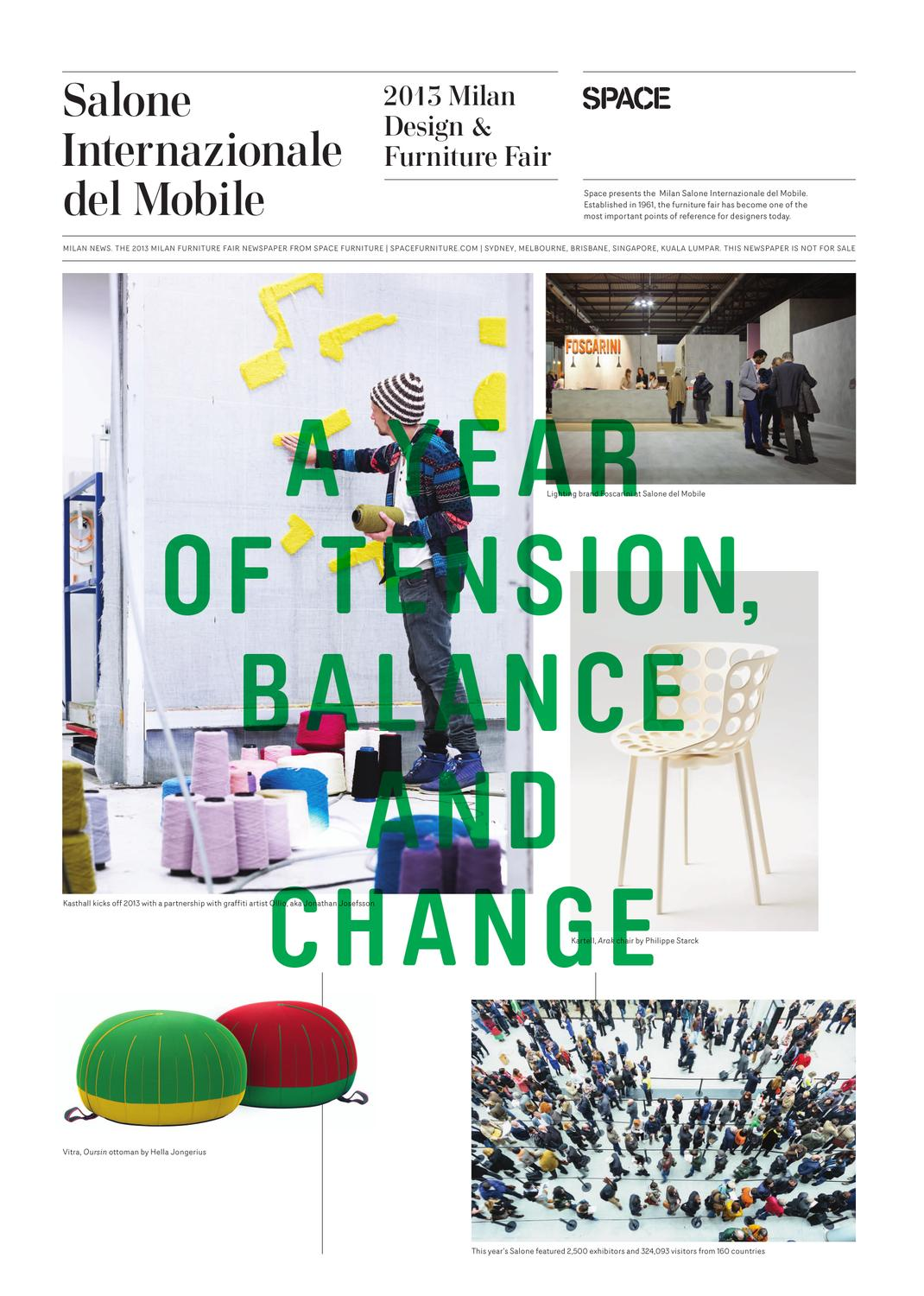 Space milan news by space furniture issuu for Milan news mobile