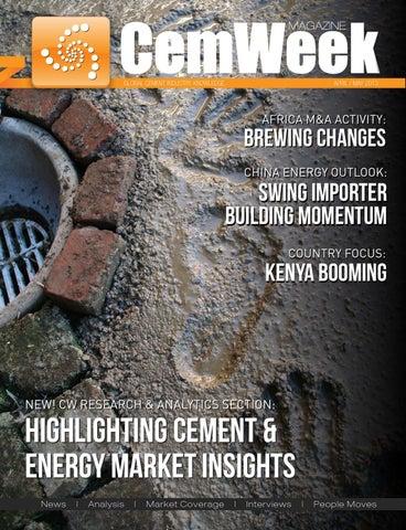 CemWeek Magazine, Issue 14 by CemWeek - issuu
