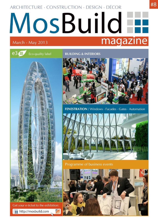 Mosbuild Magazine 8 By Mosbuild Magazine Issuu