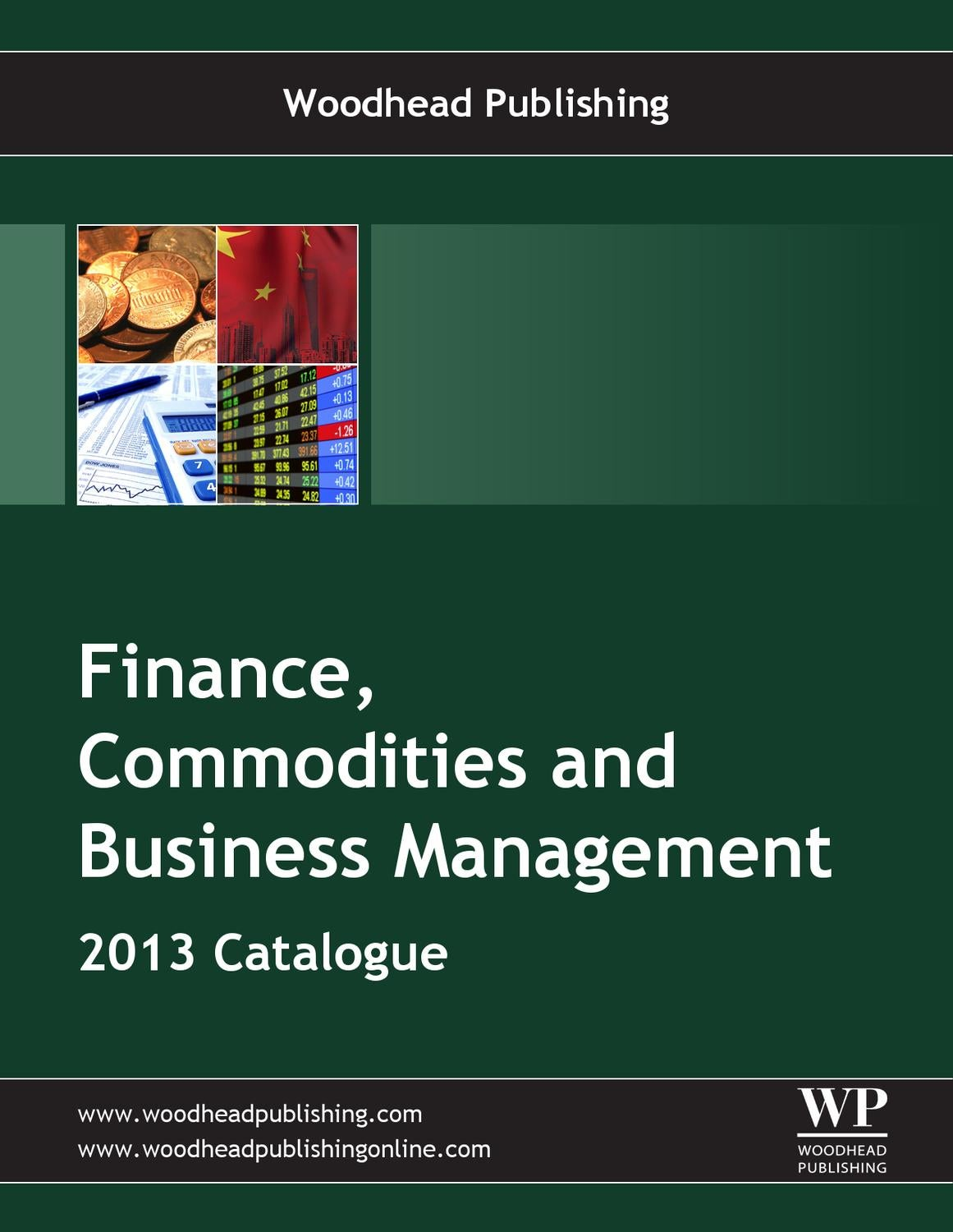 Finance, Commodities and Business Studies 2013 by Woodhead