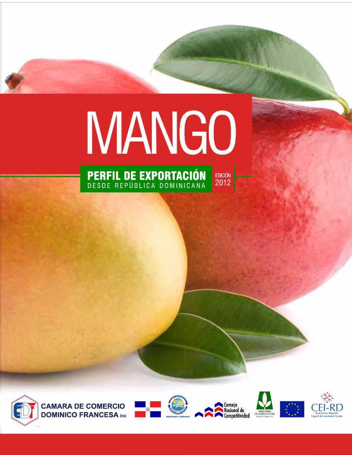 Perfil de Exportación del Mango desde República Dominicana by Henri ...