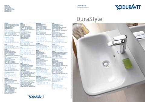 7cfbd85e963 Duravit Durastyle tootevalik by Vennad-Dahl - issuu