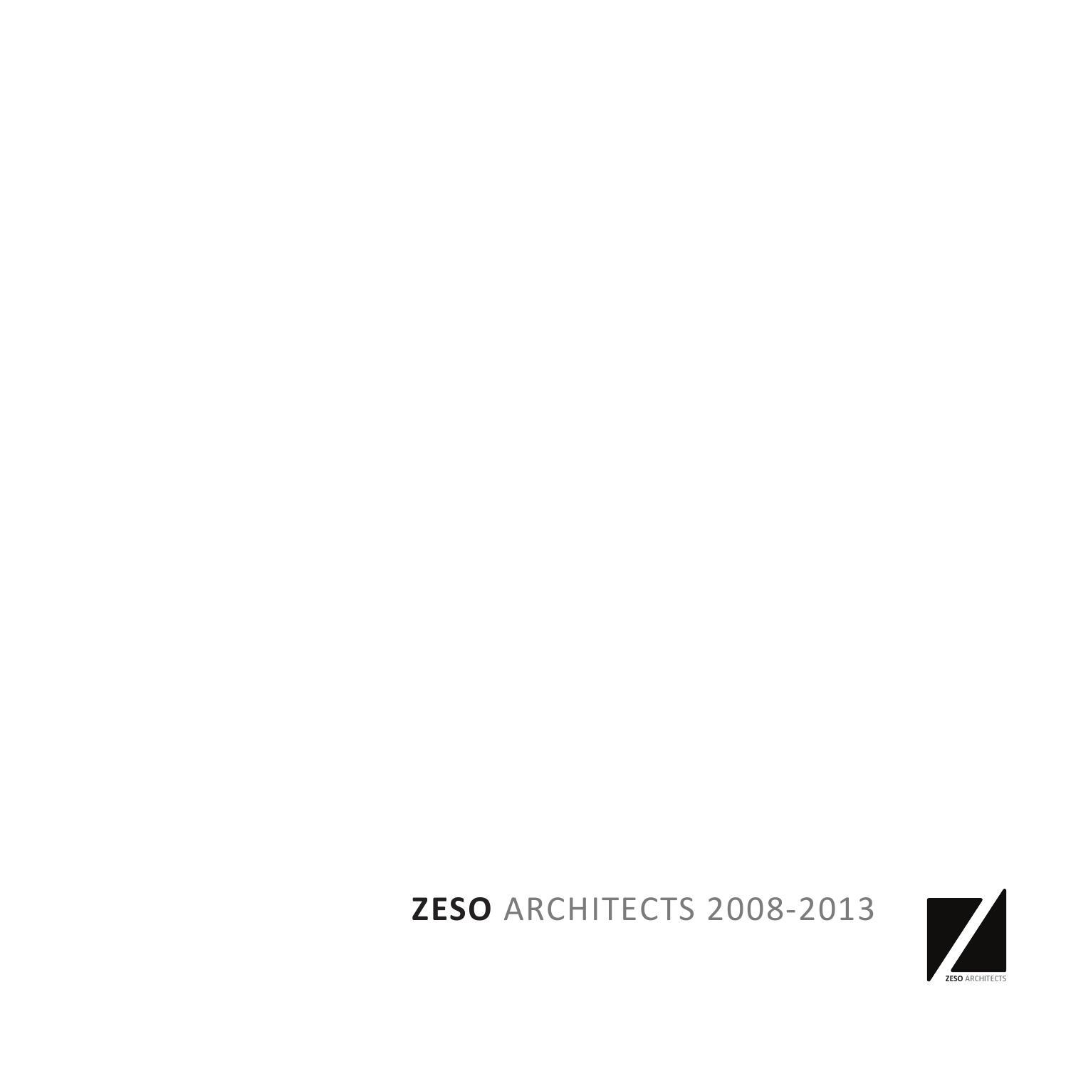 ZESO Architects 20 20 by ZESO Architects   issuu