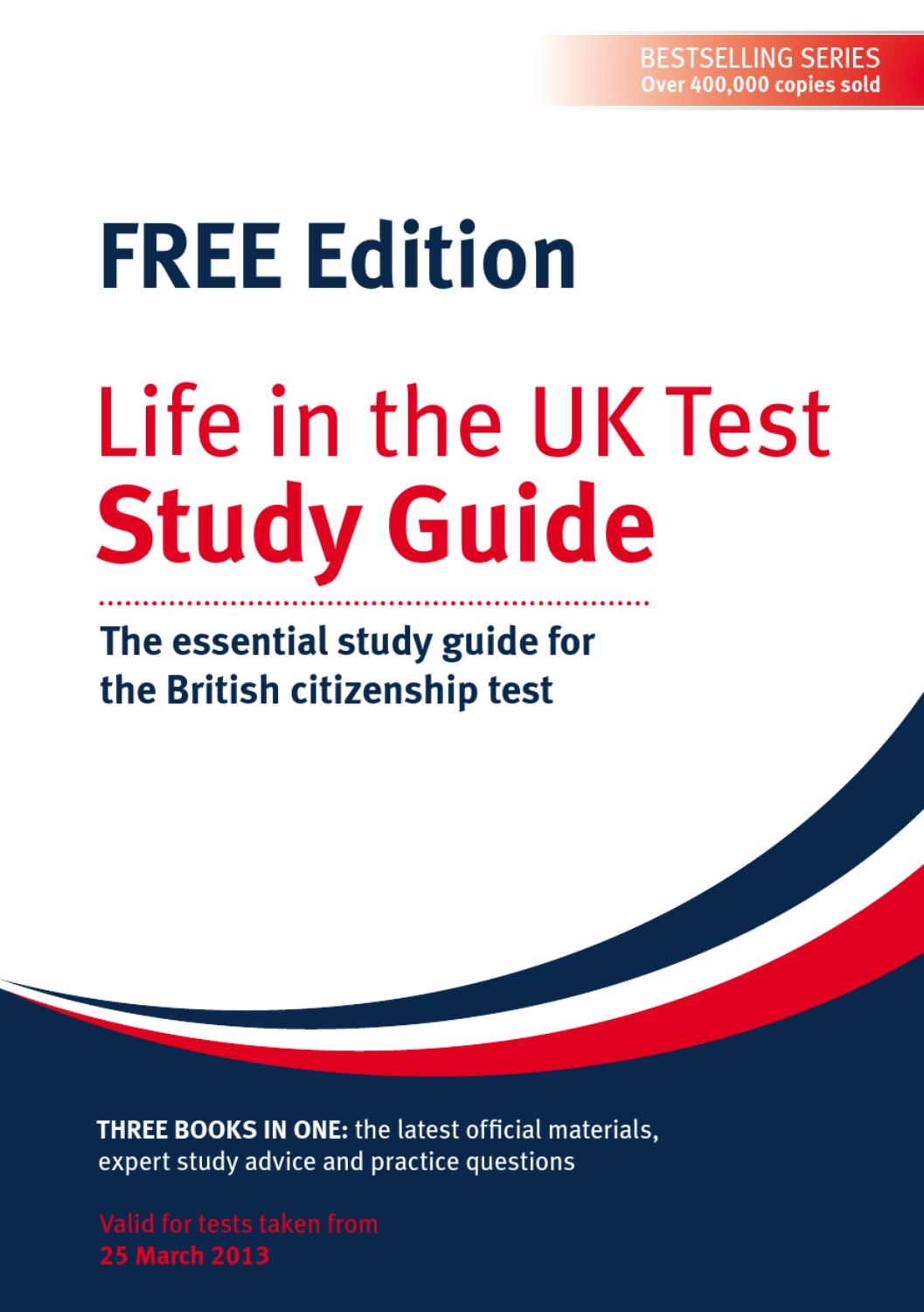Life In The Uk Test Pdf