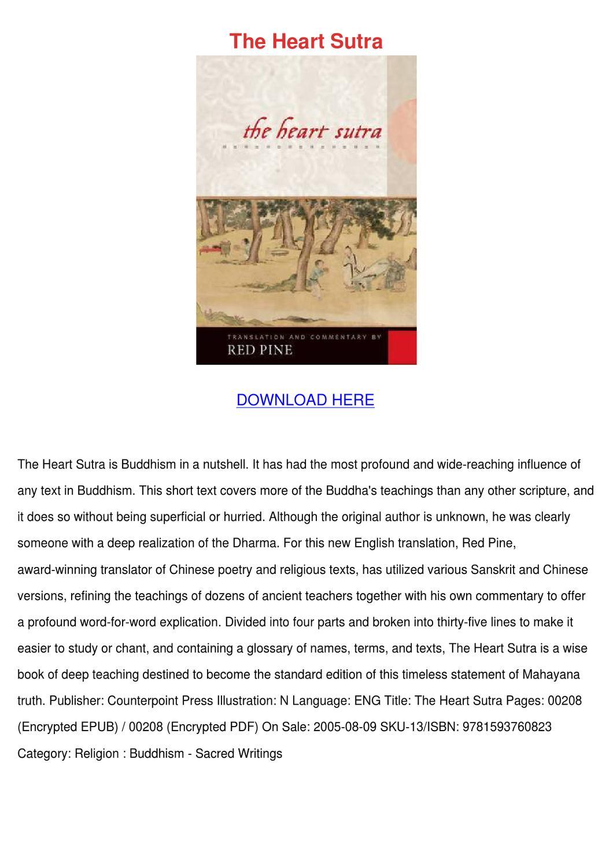 lankavatara sutra red pine pdf