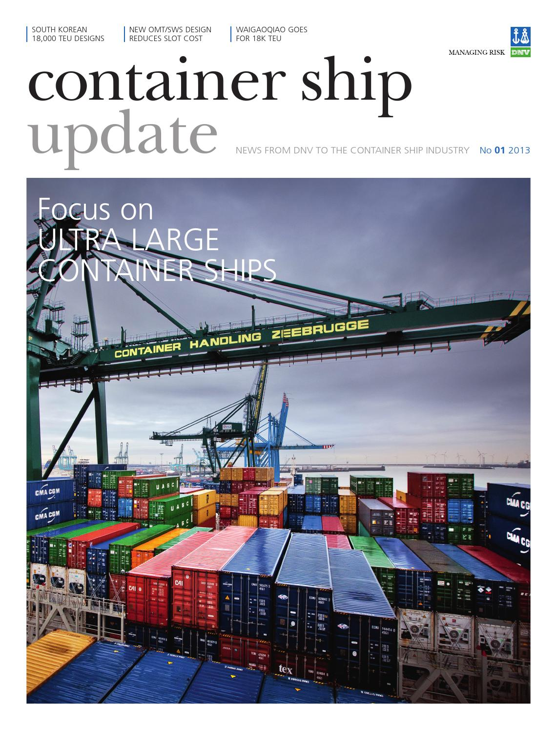 Container ship update 1 2013 by DNV GL (old account) - issuu