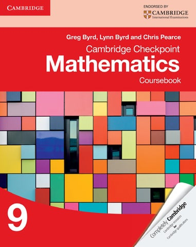 cambridge checkpoint mathematics coursebook 9 answers pdf free