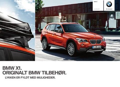 1ef44f570234 BMW X1 Originalt Tilbehør by Bavaria København - issuu