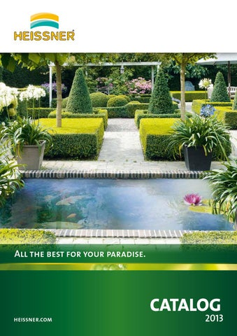 Black Heissner 49 x 79 x45cm Preformed Rectangular Water Garden