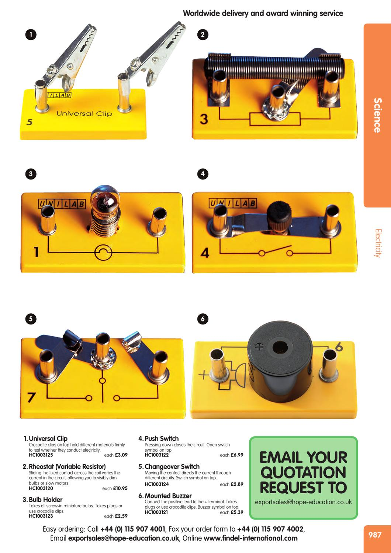 Scienceint987 1038 By Findel Ltd Issuu 110 Wiring Diagram Fan Switch Reostat