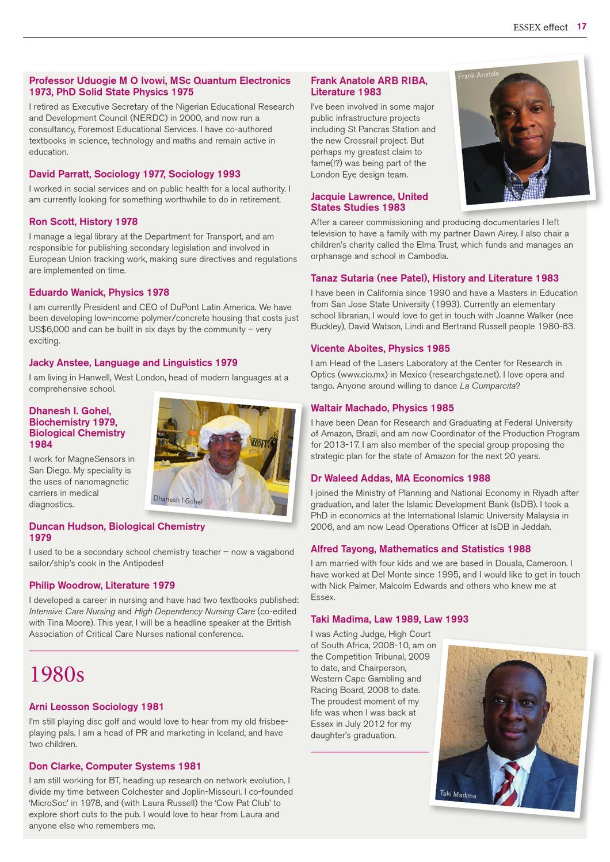 Honours dissertation acknowledgements