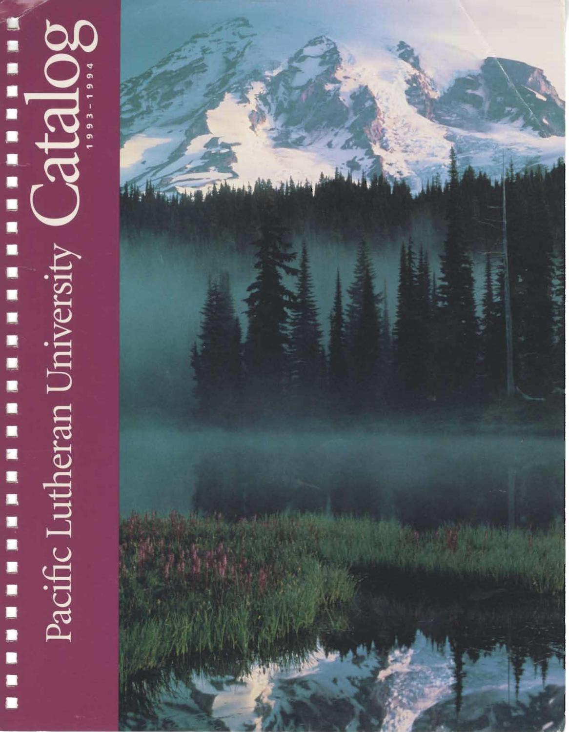 Catalog 1993 1994v73 No3 Aug 94 By Pacific Lutheran Analog Circuit Design Designing Amplifier Circuits Dennis Fichte University Archives Issuu