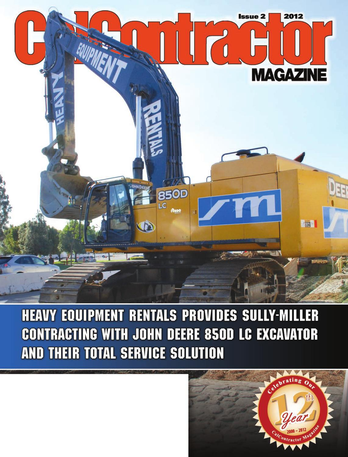 Calcontractor Rental Guide 2012 By Cms Issuu