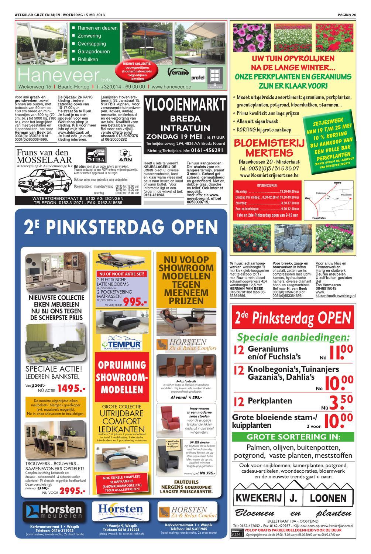 Weekblad Gilze En Rijen 15 05 2013 By Uitgeverij Em De Jong Issuu