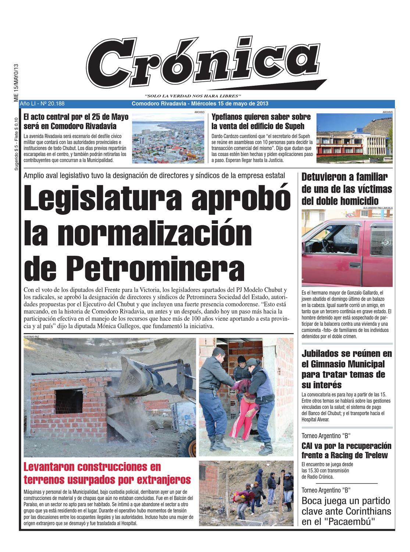 on sale 9b895 c0cf8 bcfe2f235a00f4c3ab92a442d6b46547 by Diario Crónica - issuu