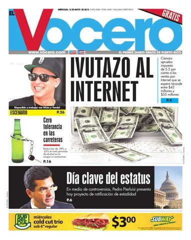 0c732e7ed573 Edición 15 de Mayo 2013 by El Vocero de Puerto Rico - issuu