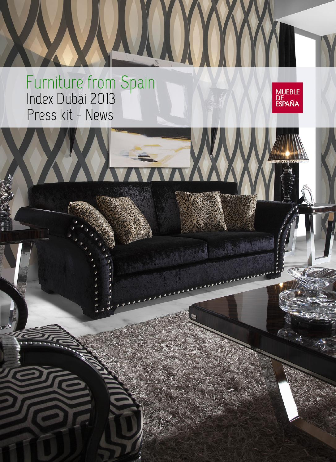 Index dubai 2013 press kit by furniture from spain issuu - Resource furniture espana ...