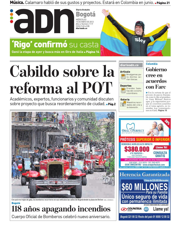 15 de mayo Bogotá by Diario ADN - issuu