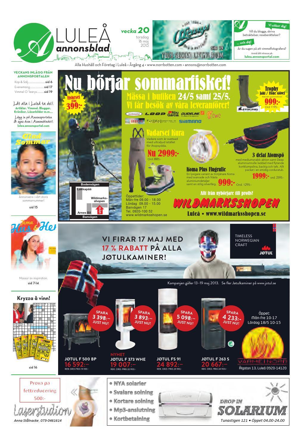 Luab 2013 vecka20 by Svenska Civildatalogerna AB - issuu 521ecc94ee77d