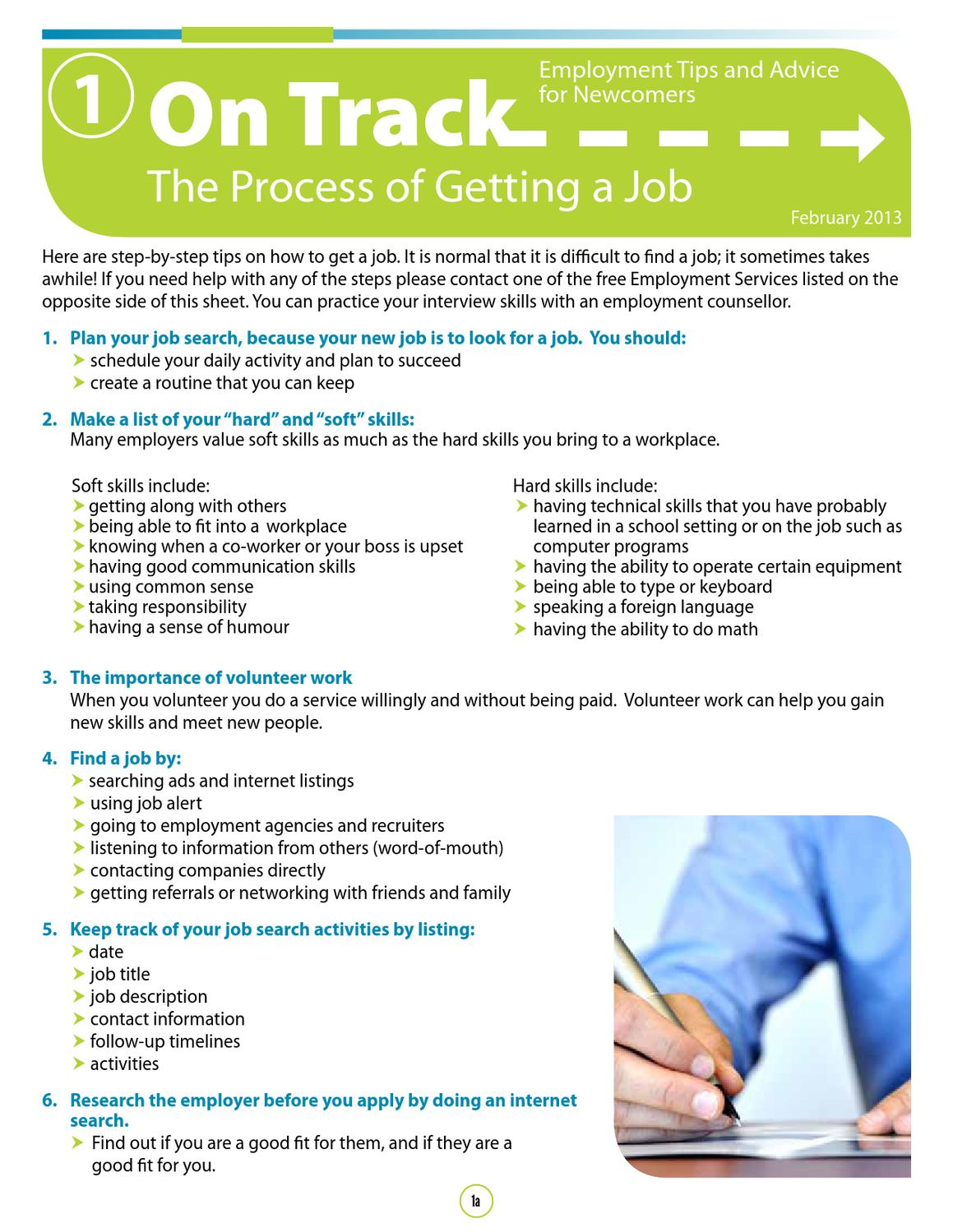 on track employment tips and advice for newcomers workforce ontrack eng 3 years ago cyndilingle