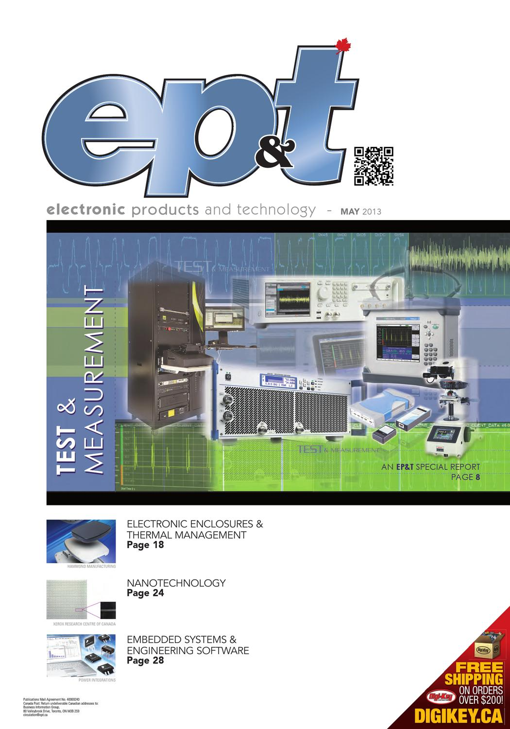 Electronic Products and Technology May 2013 by Annex ... on