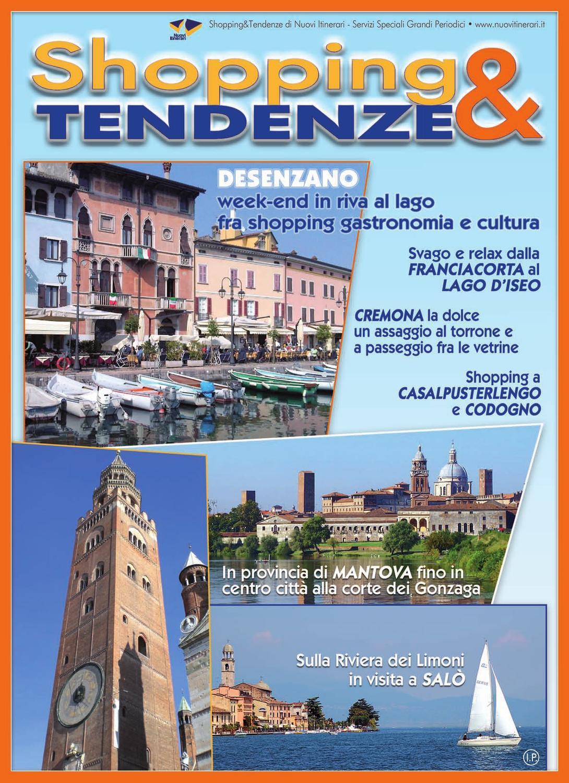 Dondi Salotti Outlet Mantova.Shopping Tendenze Speciale Lombardia By Nuovi Itinerari Issuu