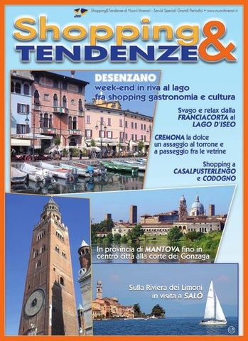 Shopping Tendenze Speciale Lombardia by Nuovi Itinerari - issuu 597af208793