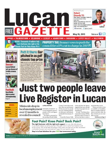 Lucan by Dublin Gazette - issuu 88d593a0843e4