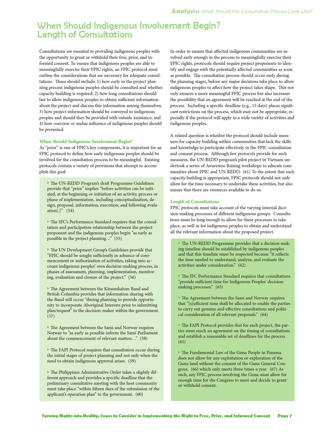 Fpic Turning Rights Into Reality By Cultural Survival Issuu