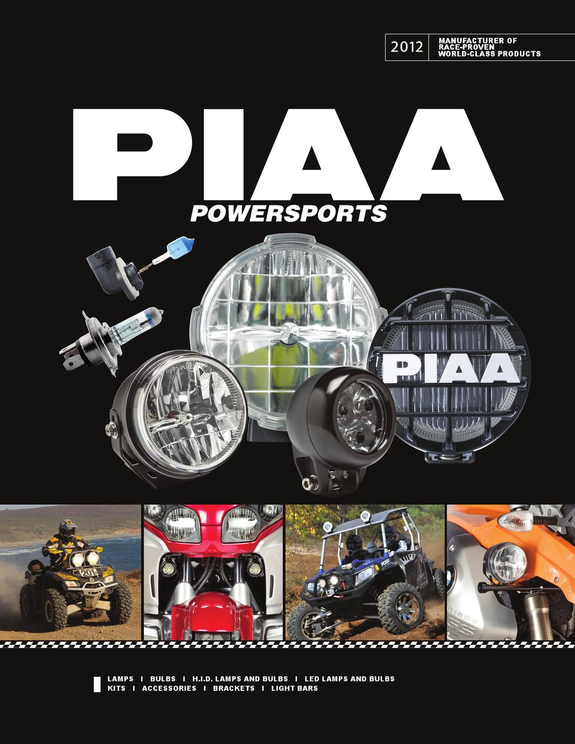 Piaa 2012 2013 Powersports Catalog By Curt Bryant Issuu Lp530 Led Wiring Harness