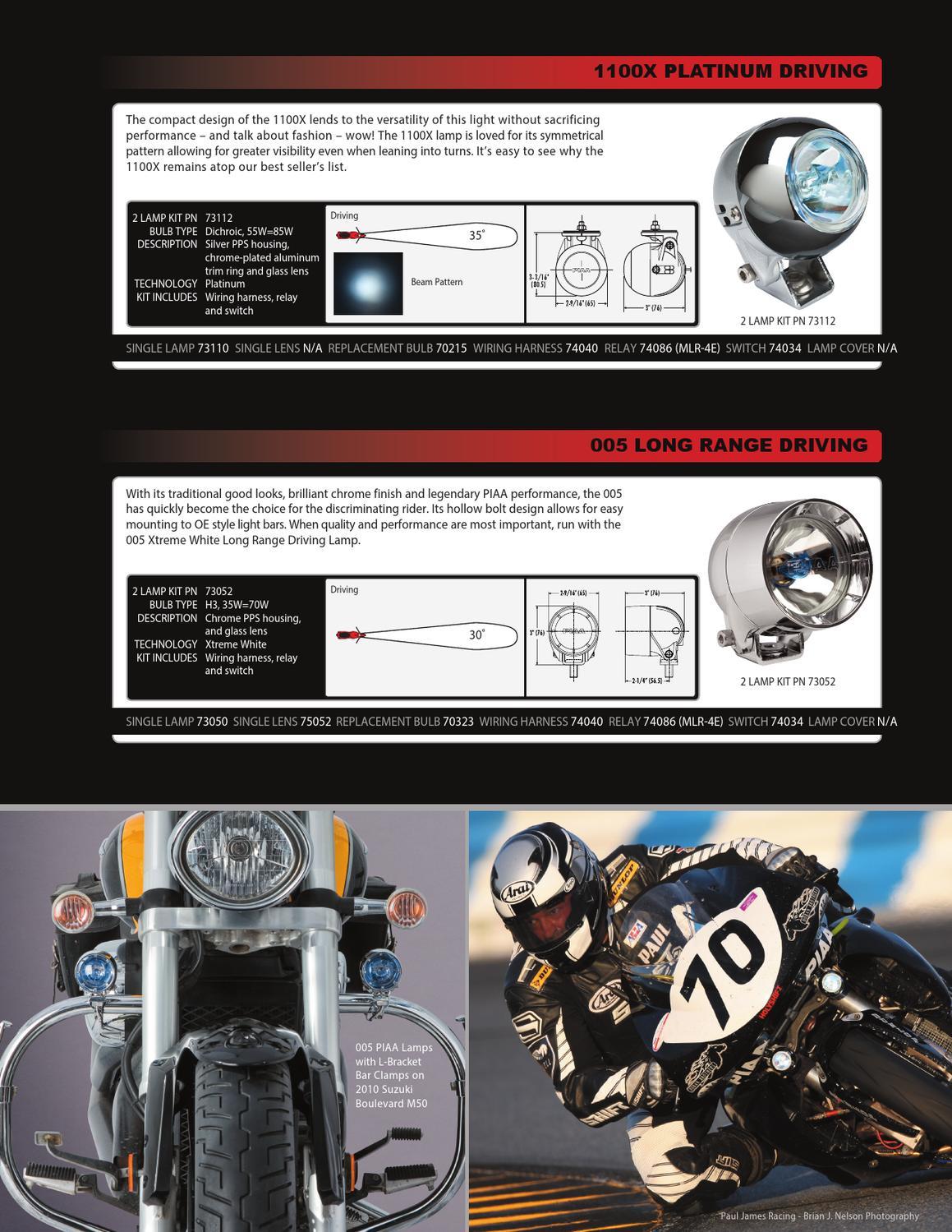 PIAA 74040 Powersports Wiring Harness