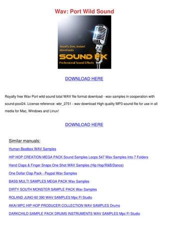 Wav Port Wild Sound by Sheryll Dornak - issuu