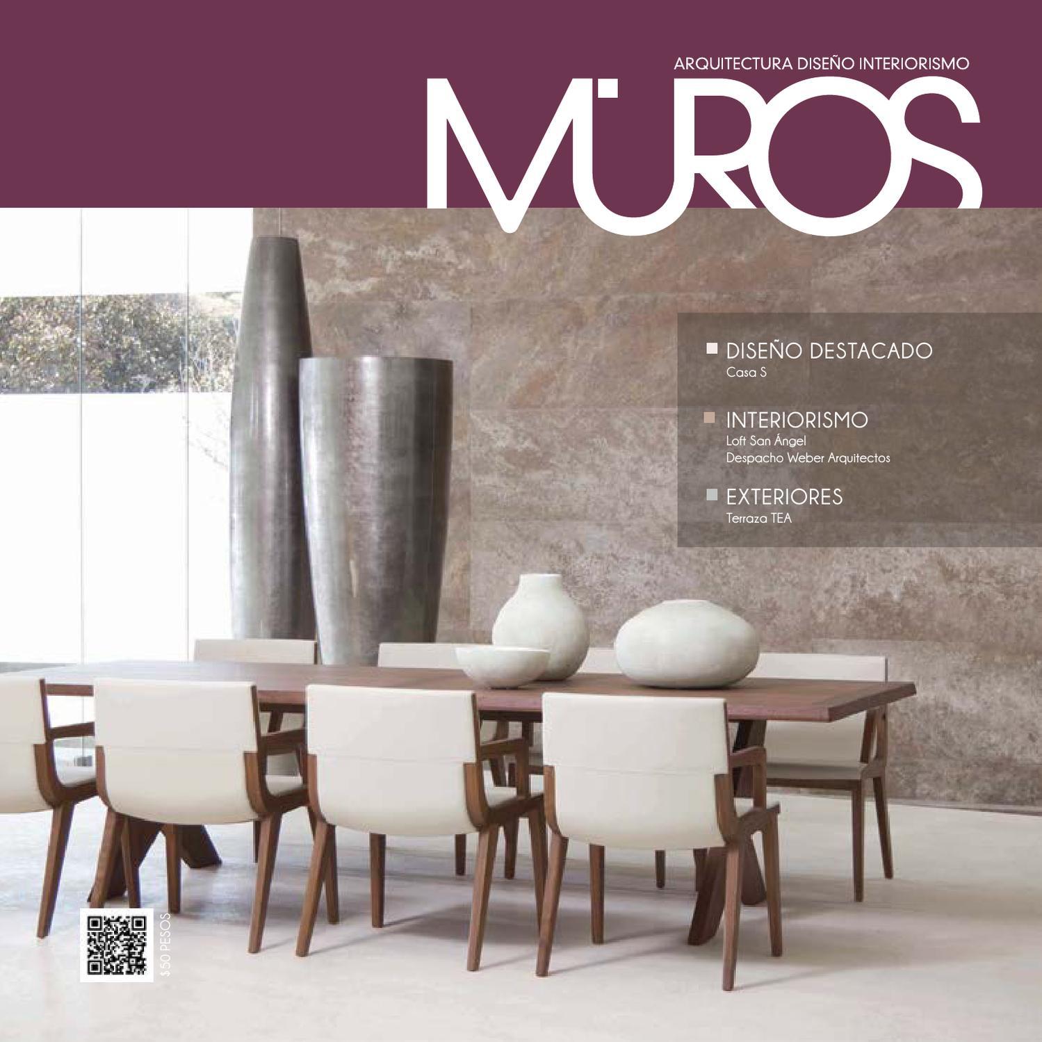 Edici N 4 Revista Muros Arquitectura Dise O Interiorismo By  # Ad Hoc Muebles Puebla
