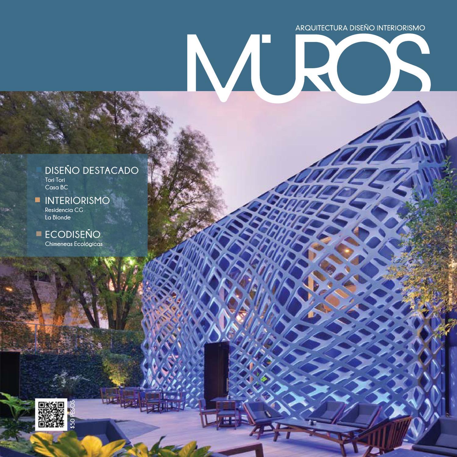 Edici n 2 revista muros arquitectura dise o interiorismo for Revista habitat arquitectura diseno interiorismo