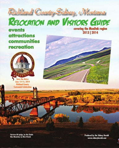Richland County-Sidney, Montana Relocation and Visitors