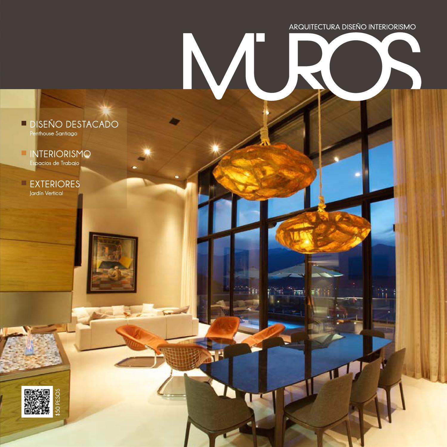 Edici n 0 revista muros arquitectura dise o interiorismo for Diseno de interiores temario