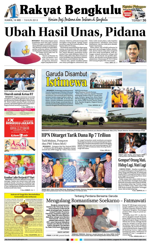 Harian rakyat bengkulu online dating 4