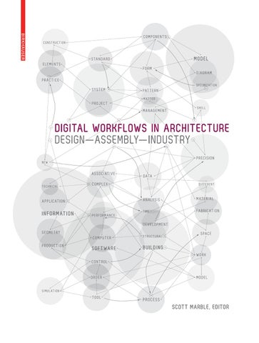Architecture Design Workflow digital workflows in architecturebirkhäuser - issuu