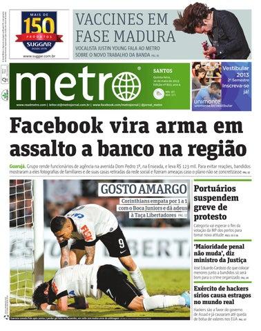 71311f845 O Jornal Metro é impresso em papel certificado FSC