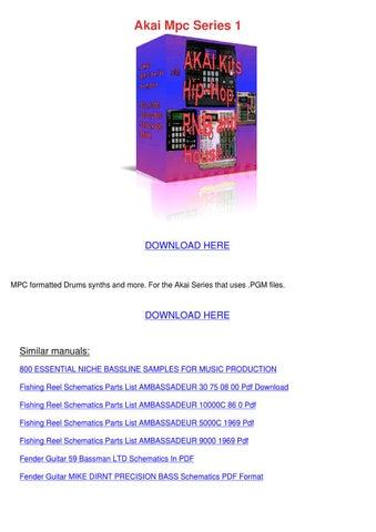 akai am u41 u61 service manual download